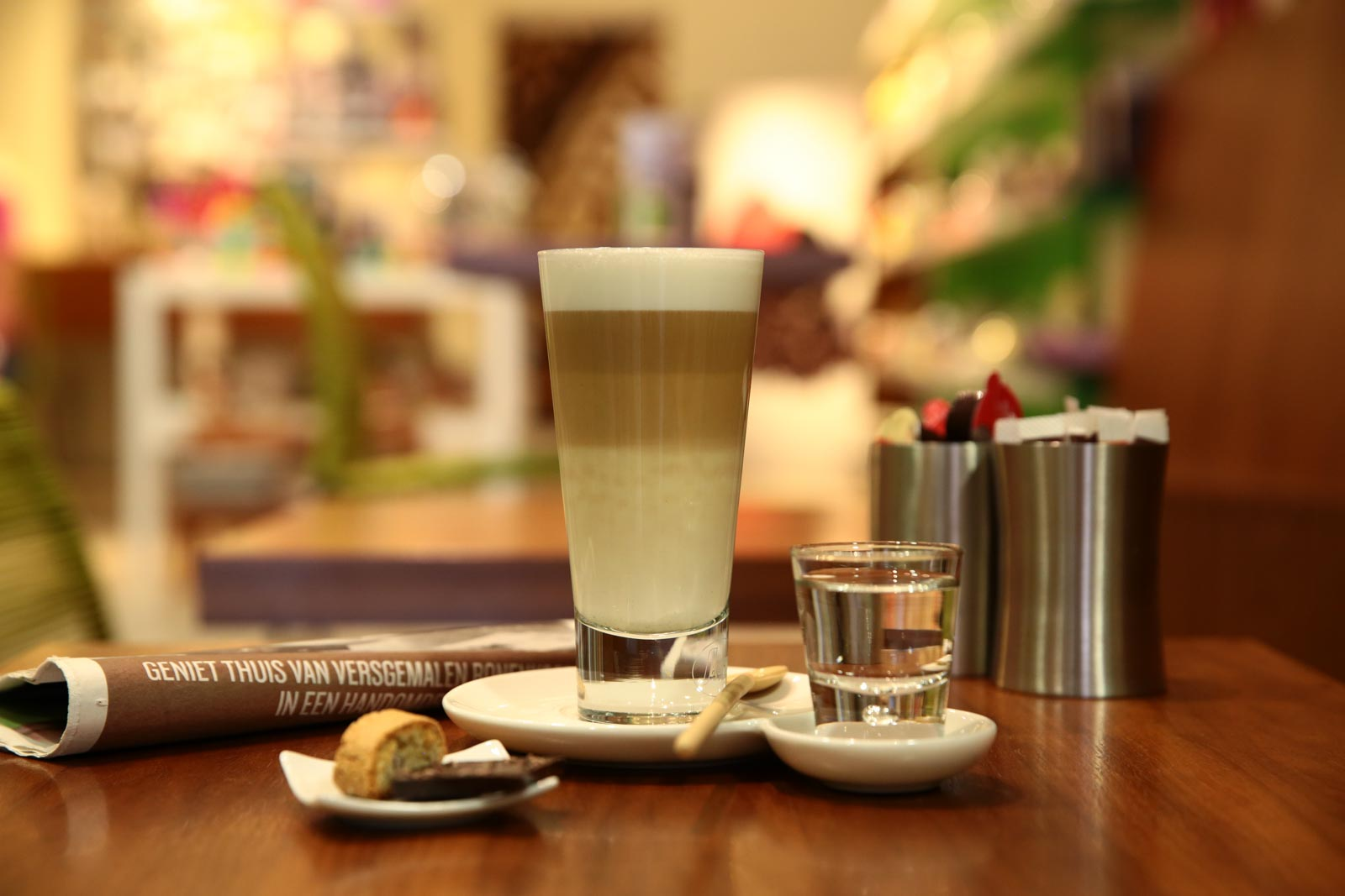 Sfeerfoto gemaakt bij Caffe Dono
