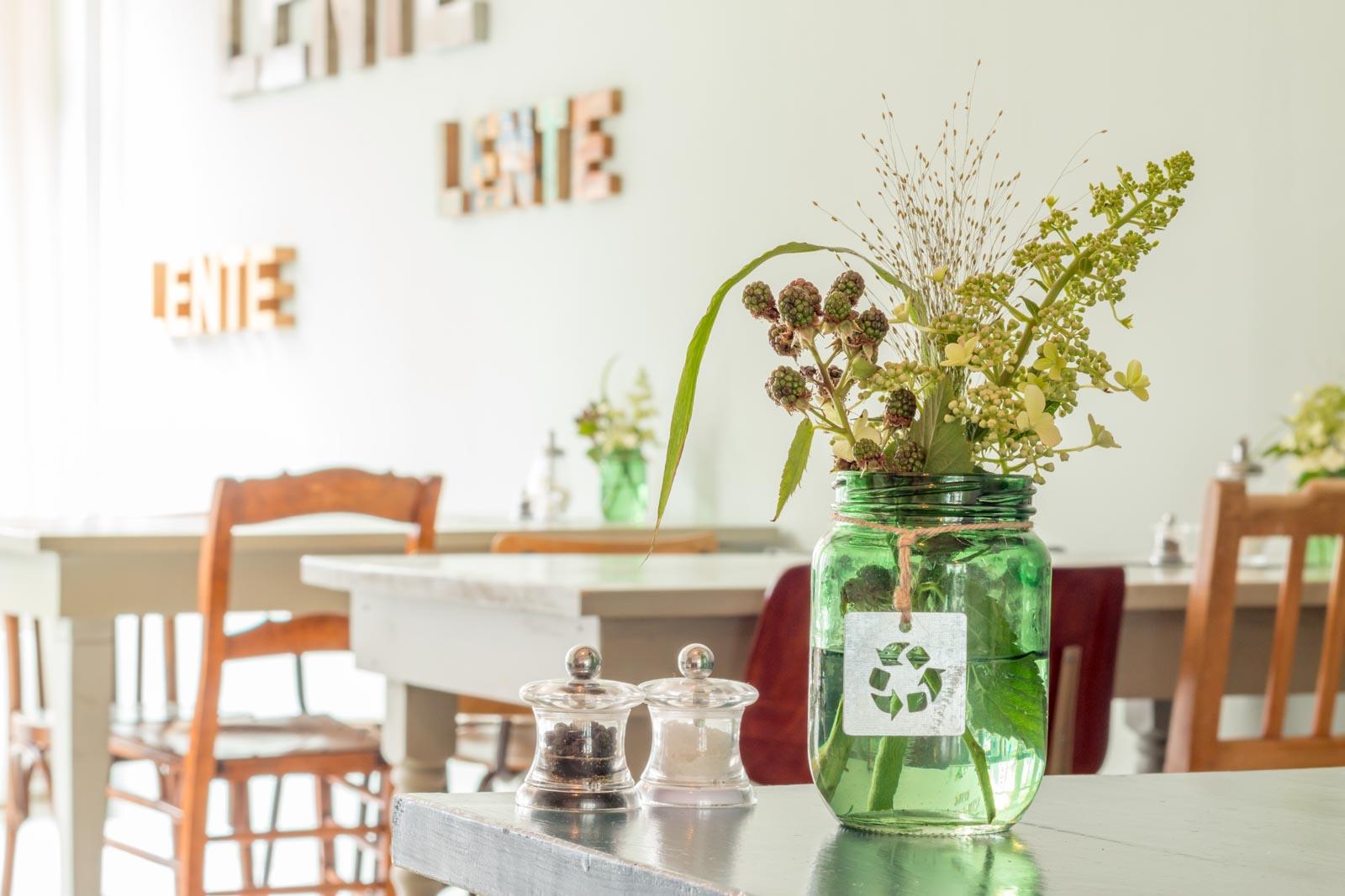 Sfeerfoto gemaakt bij Lunchcafe Lente