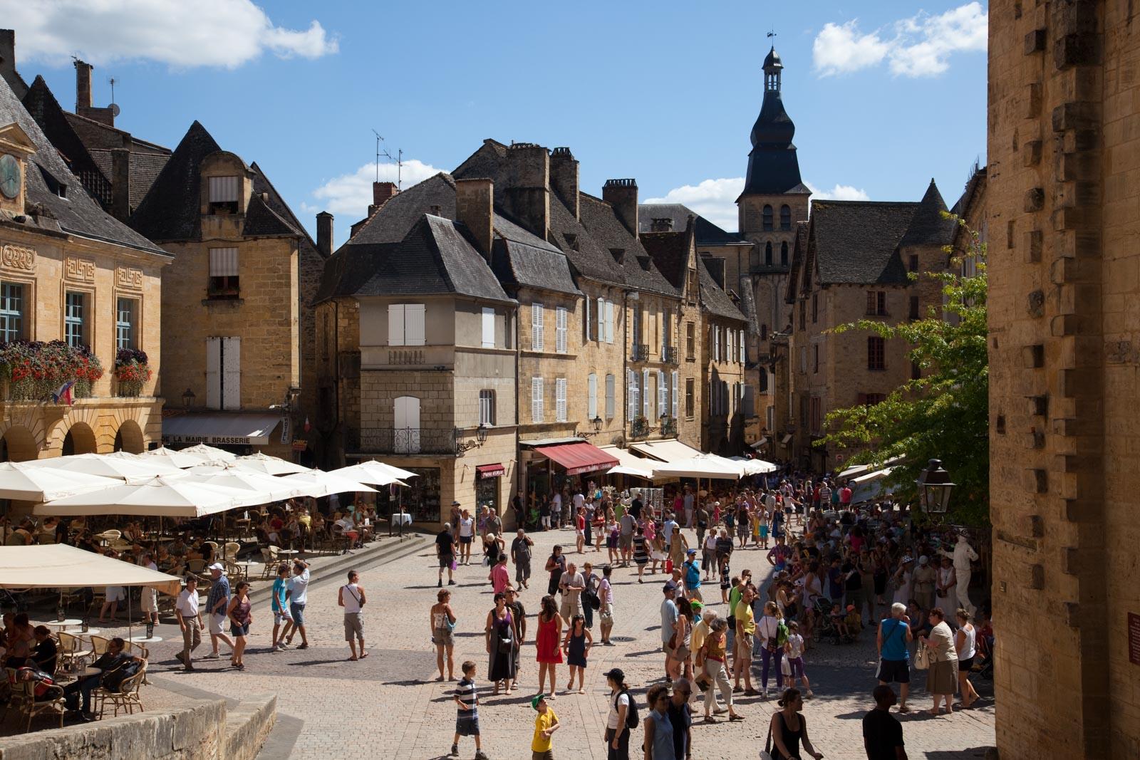 Sfeerfoto gemaakt voor Place de la Famille