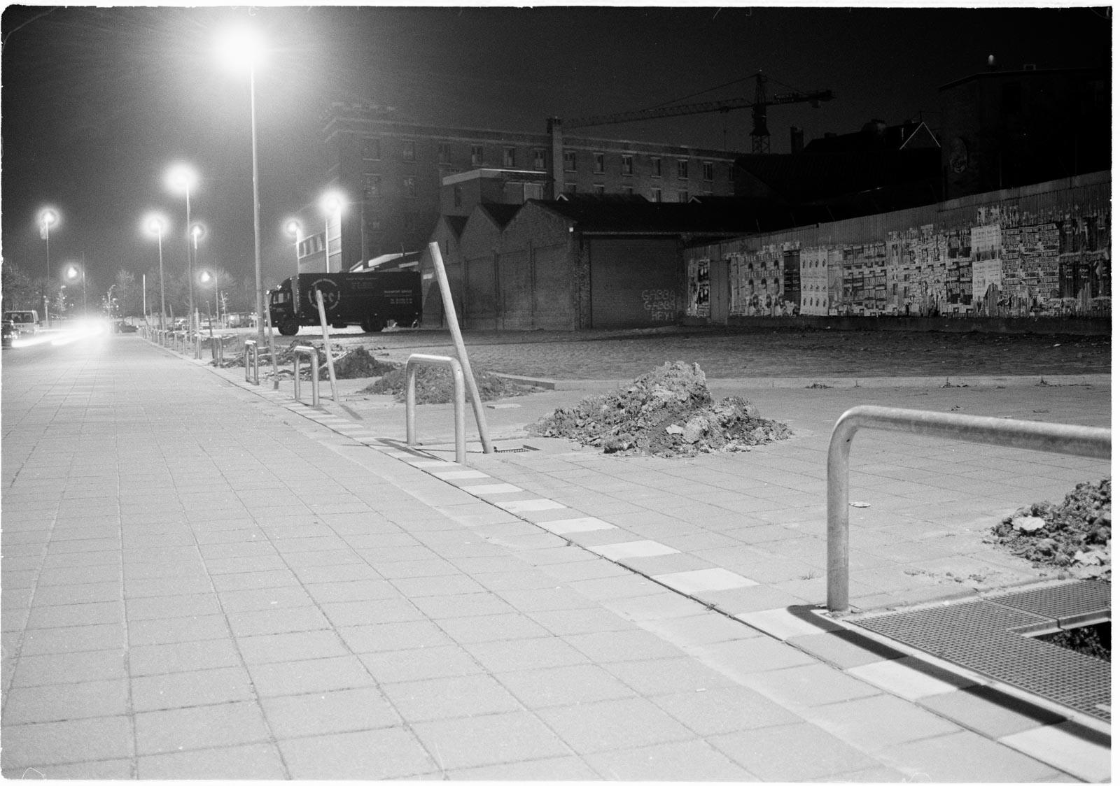 Nachtfoto uit de serie Stille Getuigen gemaakt in Antwerpen